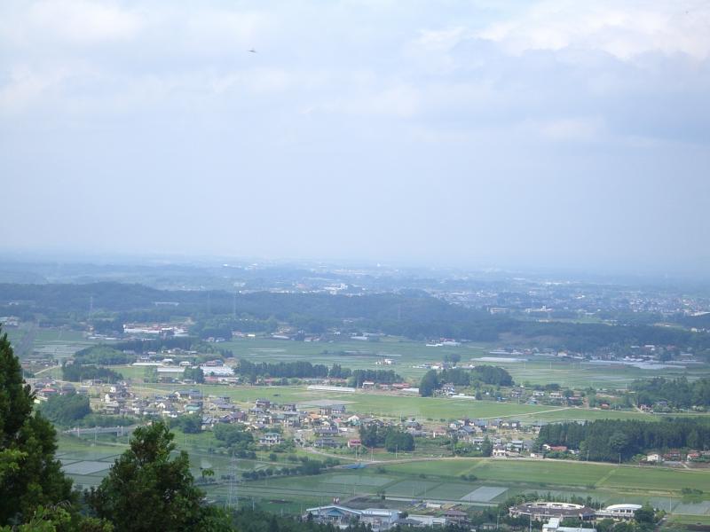 『泉崎村を一望できる烏峠円満平からの風景』の画像