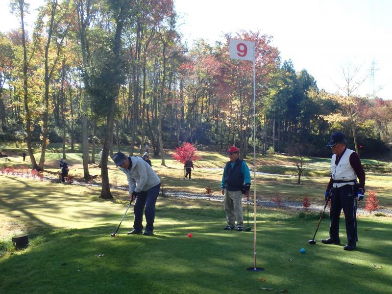 『秋の収穫感謝パークゴルフ大会』の画像