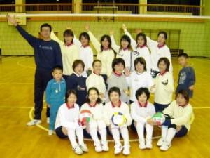 『泉崎バレーボールクラブ』の画像