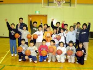 『泉崎ミニバスケットボールクラブ』の画像