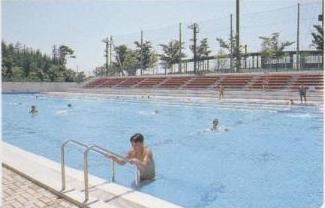 『さつき公園プール01』の画像