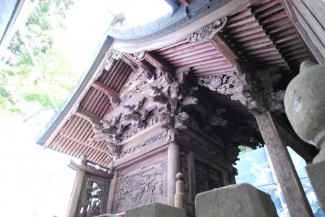 『烏峠稲荷神社 本殿』の画像