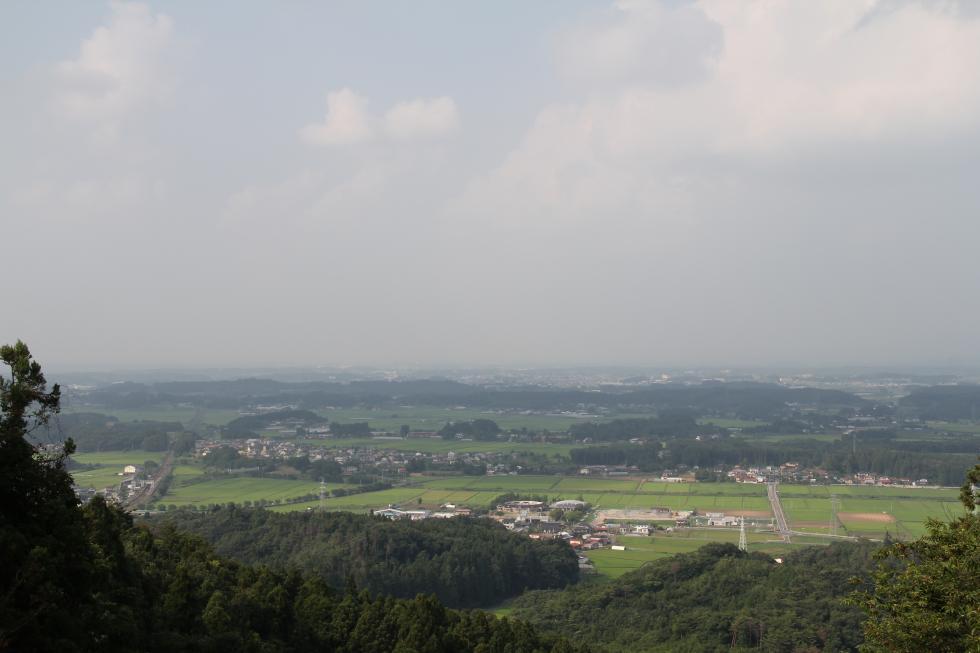 『『烏峠から村中心部』の画像』の画像