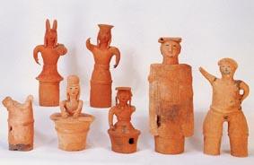 『原山1号古墳出土形象埴輪』の画像