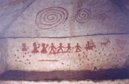 『『泉崎横穴壁画』の画像』の画像