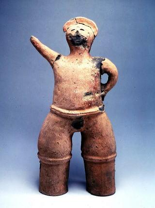 『力士像埴輪』の画像