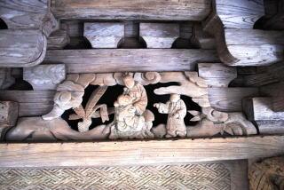 『神社本殿の装飾』の画像
