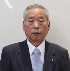『岡部英夫副議長』の画像
