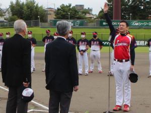 『選手宣誓』の画像